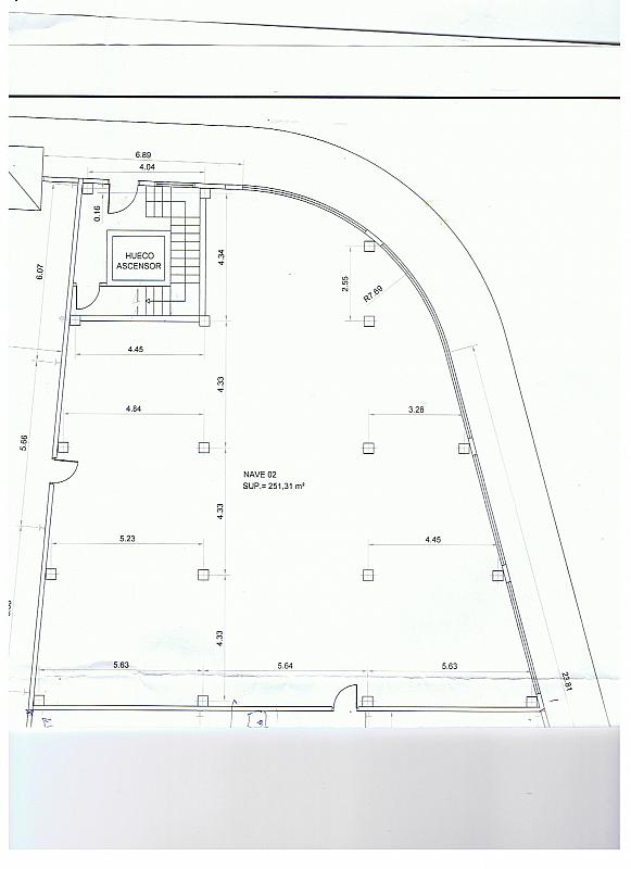 Plano - Local comercial en alquiler en calle Carril de la Guetara, Teatinos en Málaga - 233370475