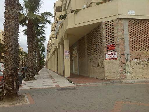 Fachada - Local comercial en alquiler en calle Mefistoteles, El Cónsul-Ciudad Universitaria en Málaga - 186131091
