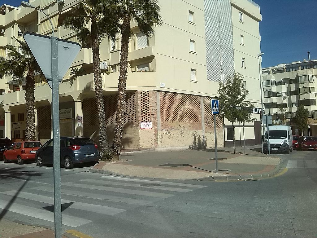 Fachada - Local comercial en alquiler en calle Robinson Crusoe, Teatinos-Universidad en Málaga - 185351271