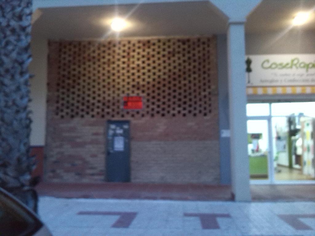 Fachada - Local comercial en alquiler en calle Robinson Crusoe, Teatinos-Universidad en Málaga - 185351274