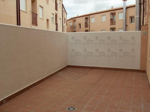 Patio - Piso en alquiler opción compra en calle Cura Santiago, Morales del Vino - 45438427