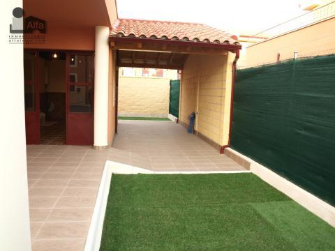 Jardín - Casa pareada en alquiler opción compra en calle Aurora, Moraleja del Vino - 46931872