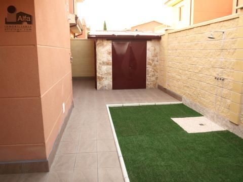 Jardín - Casa pareada en alquiler opción compra en calle Aurora, Moraleja del Vino - 46931875