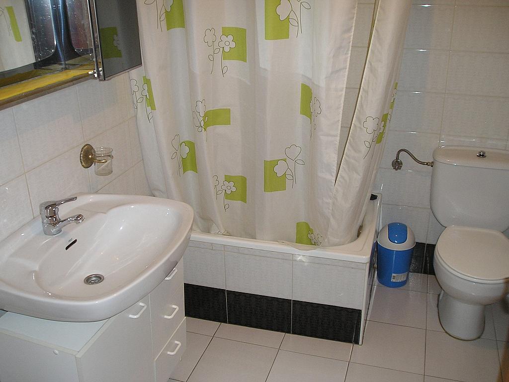 Baño - Piso en alquiler en calle Villalpando, Zamora - 202142842