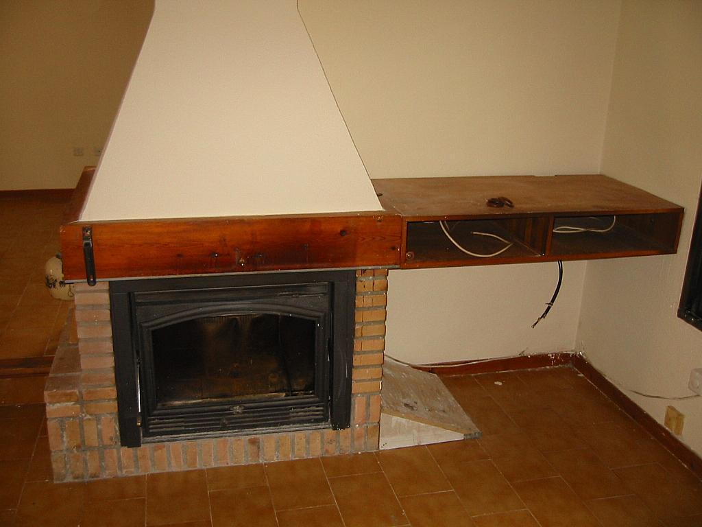 Salón - Casa adosada en alquiler en calle Castaño, Soto del Real - 321208037