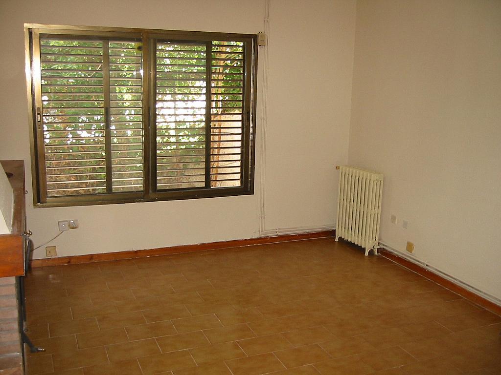 Salón - Casa adosada en alquiler en calle Castaño, Soto del Real - 321208045