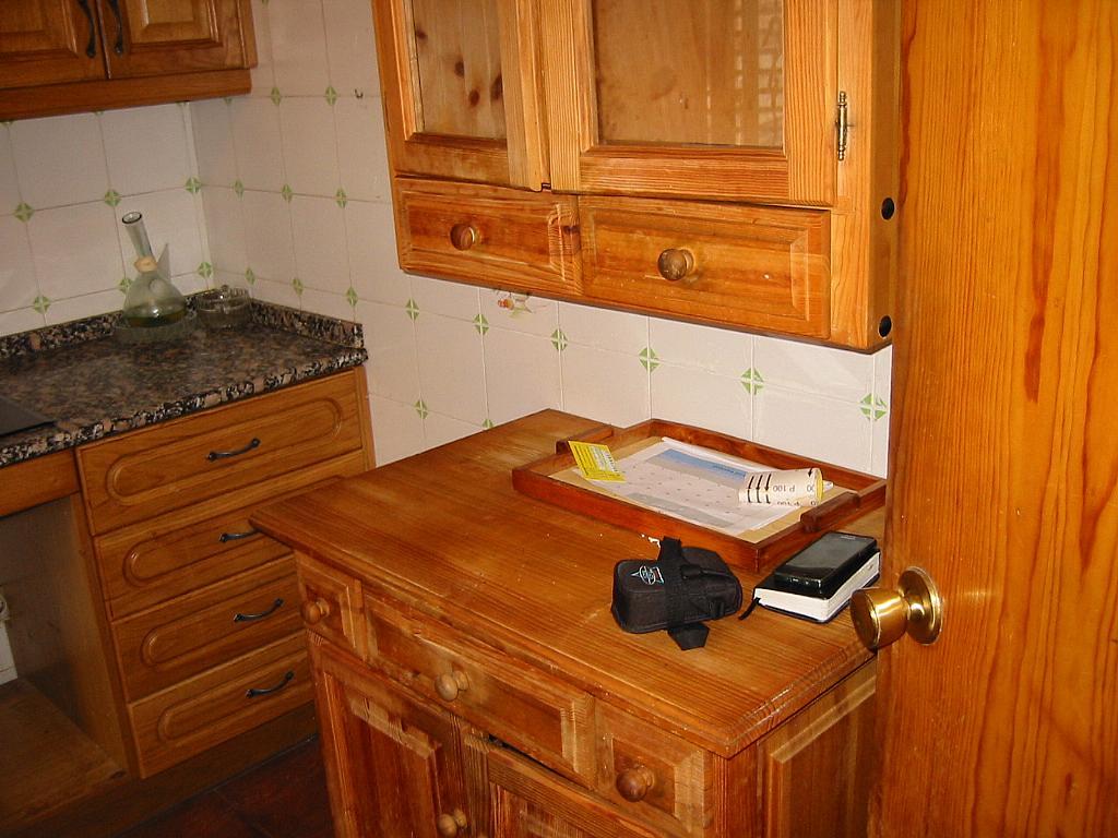 Cocina - Casa adosada en alquiler en calle Castaño, Soto del Real - 321208056