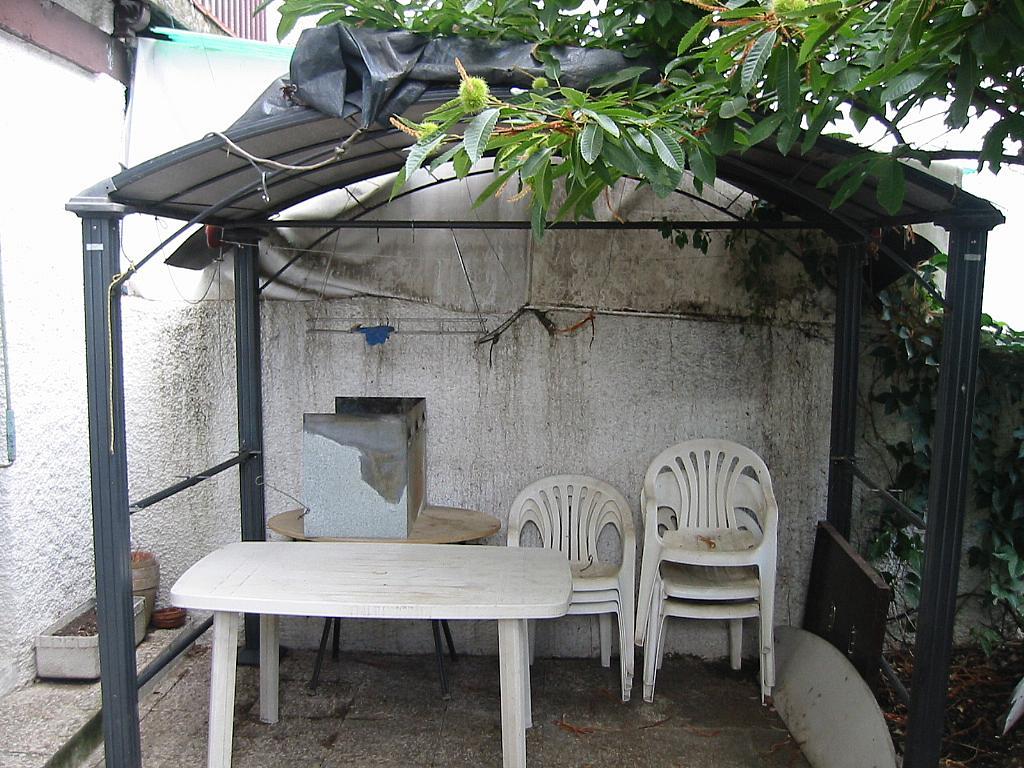 Patio trasero - Casa adosada en alquiler en calle Castaño, Soto del Real - 321208117