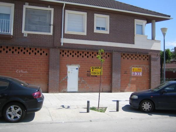 FACHADA - Local en alquiler en calle Nuestra Señora de la Vega, San Martín de la Vega - 9203703