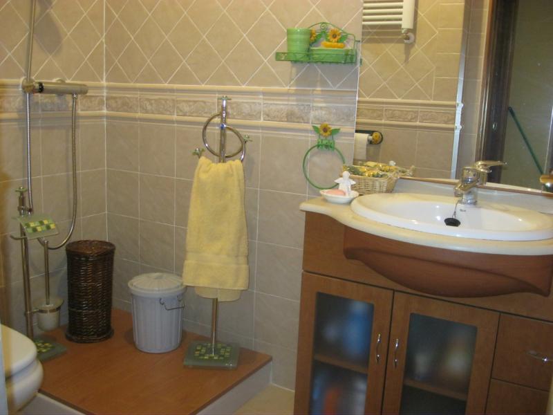 Baño - Casa rural en alquiler de temporada en calle Aquiles, Sacedón - 84869368