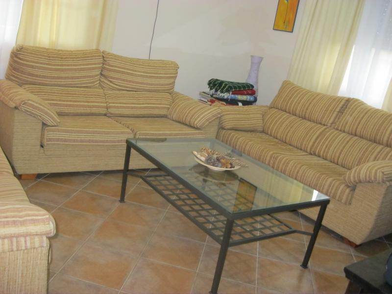 Salón - Casa rural en alquiler de temporada en calle Aquiles, Sacedón - 84869409