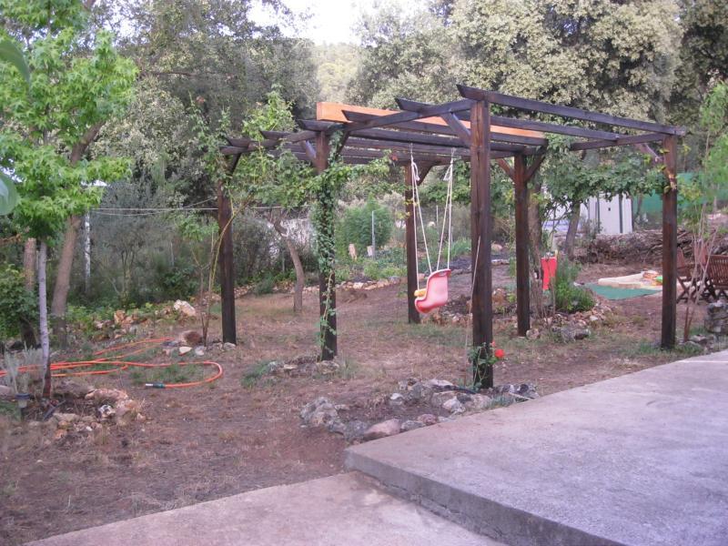 Jardín - Casa rural en alquiler de temporada en calle Aquiles, Sacedón - 84869449