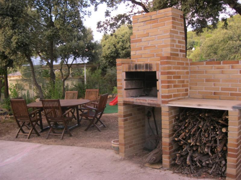 Jardín - Casa rural en alquiler de temporada en calle Aquiles, Sacedón - 84869497