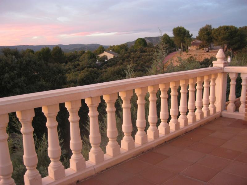 Terraza - Casa rural en alquiler de temporada en calle Aquiles, Sacedón - 84869559