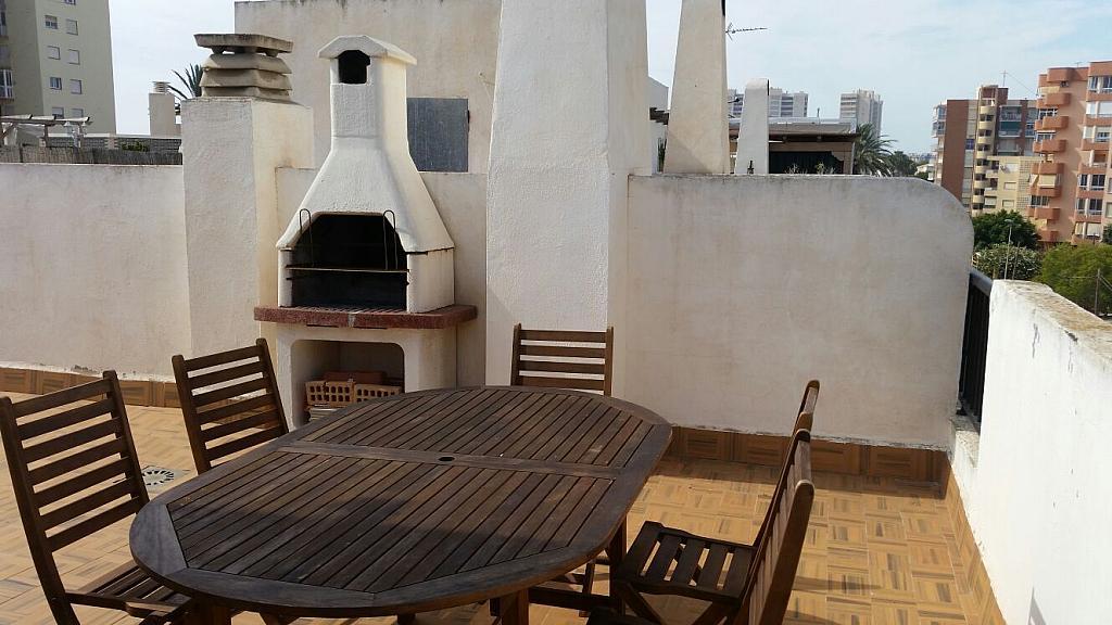 Dúplex en alquiler de temporada en calle Jacinto Benavente, Playa Mucha Vista en Campello (el) - 282802151