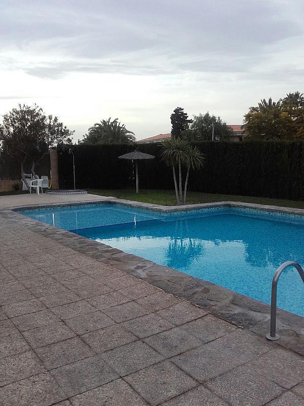 Jardín - Bungalow en alquiler en calle Sargo, Playa de San Juan - 300539877