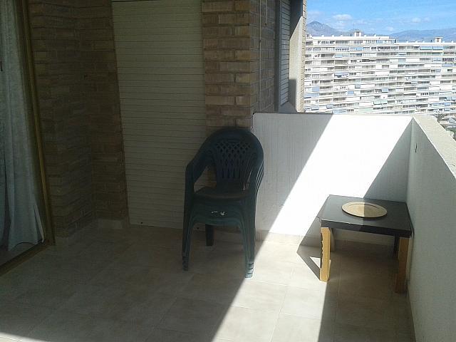 Piso en alquiler de temporada en calle Cataluña, Playa de San Juan en Alicante/Alacant - 129351050