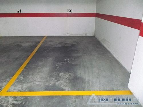 Plazas de garaje - Garaje en alquiler en Los Angeles en Alicante/Alacant - 258069550