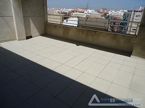 Atico con piscina en Alicante - Ático en alquiler opción compra en Los Angeles en Alicante/Alacant - 272598929
