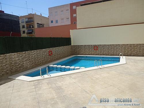 Atico con piscina en Alicante - Ático en alquiler opción compra en Los Angeles en Alicante/Alacant - 272598938