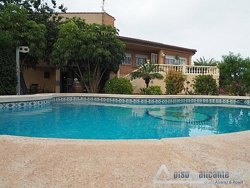 Chalet de lujo en Alicante - Chalet en alquiler opción compra en Villafranqueza - 293473820