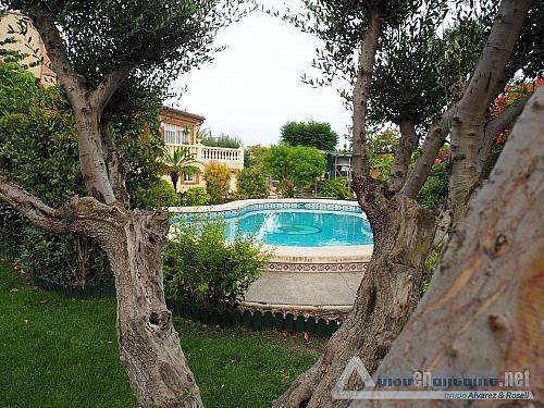 Chalet de lujo en Alicante - Chalet en alquiler opción compra en Villafranqueza - 293473826