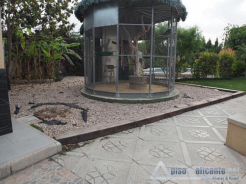 Chalet de lujo en Alicante - Chalet en alquiler opción compra en Villafranqueza - 293473829