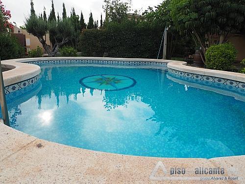 Chalet de lujo en Alicante - Chalet en alquiler opción compra en Villafranqueza - 293473835