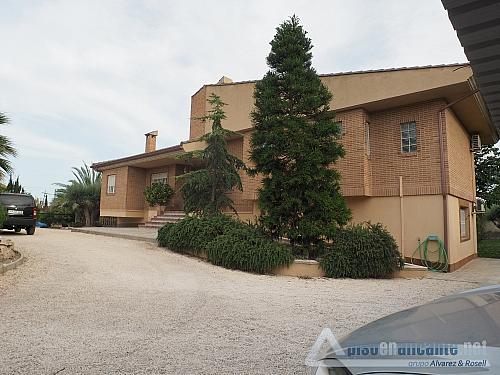 Chalet de lujo en Alicante - Chalet en alquiler opción compra en Villafranqueza - 293473850