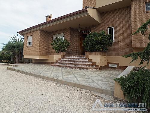 Chalet de lujo en Alicante - Chalet en alquiler opción compra en Villafranqueza - 293473853