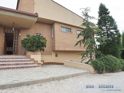 Chalet de lujo en Alicante - Chalet en alquiler opción compra en Villafranqueza - 293473859