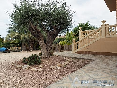 Chalet de lujo en Alicante - Chalet en alquiler opción compra en Villafranqueza - 293473862