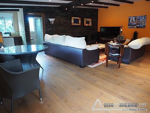 Chalet de lujo en Alicante - Chalet en alquiler opción compra en Villafranqueza - 293950467