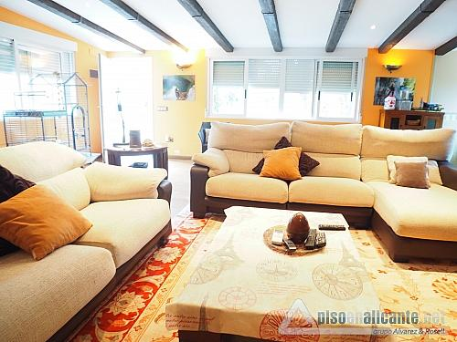 Chalet de lujo en Alicante - Chalet en alquiler opción compra en Villafranqueza - 293950473