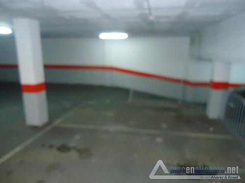 No disponible - Garaje en alquiler en Los Angeles en Alicante/Alacant - 158352878