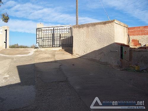 No disponible - Chalet en alquiler opción compra en San Vicente del Raspeig/Sant Vicent del Raspeig - 176723360