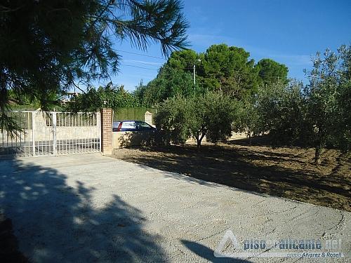 No disponible - Chalet en alquiler opción compra en Villafranqueza - 176724113