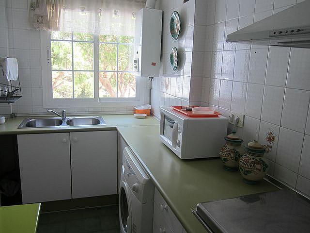 Cocina - Apartamento en alquiler en calle La Barrosa, La Barrosa en Chiclana de la Frontera - 170860231