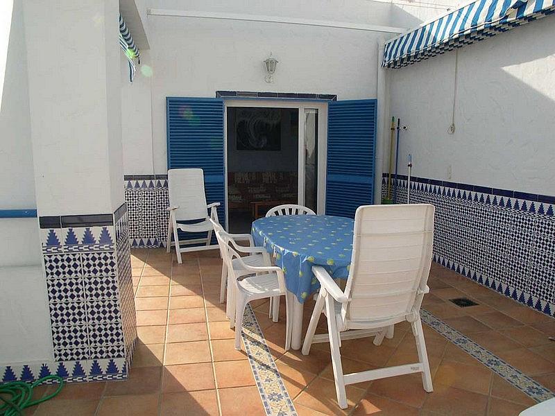Terraza - Apartamento en alquiler en urbanización Almadraba, El Lugar en Chiclana de la Frontera - 171574545