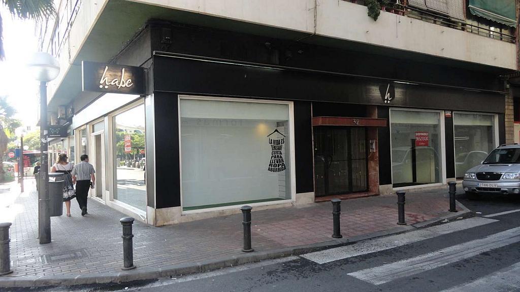 Exterior - Local en alquiler en Alicante/Alacant - 327105616