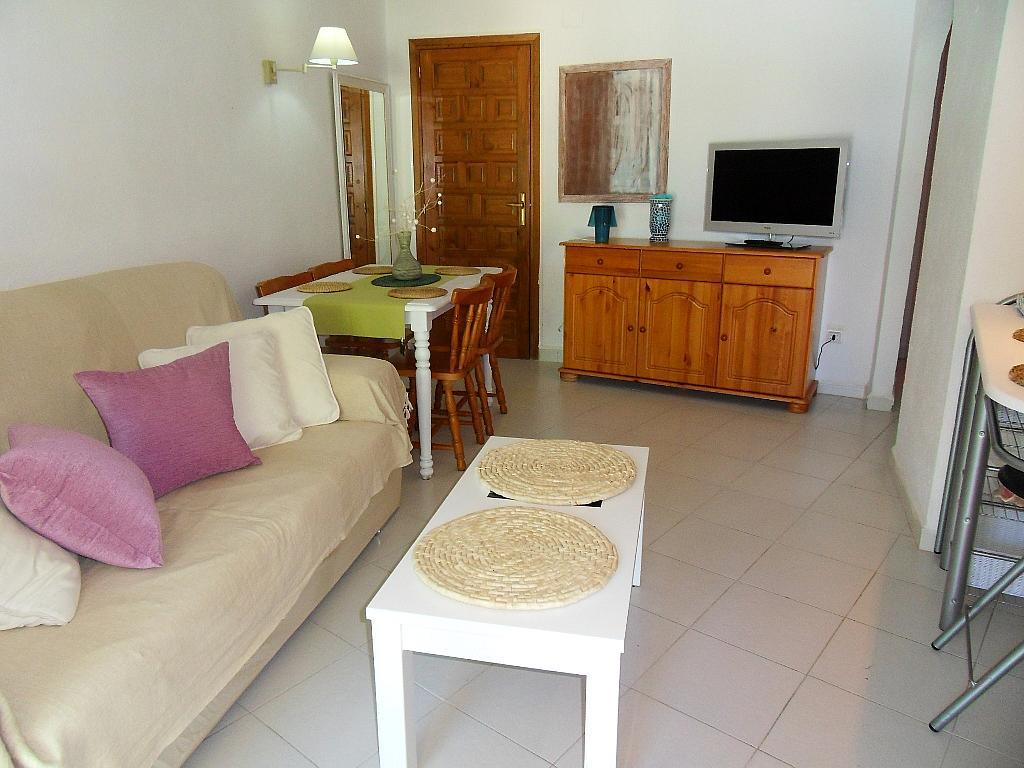 Salón - Apartamento en alquiler de temporada en barrio Marineta Casiana, El Puerto en Dénia - 200886078