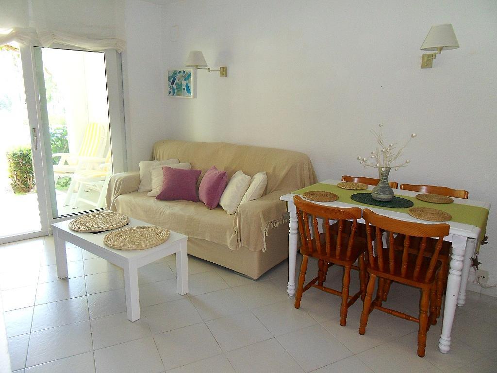 Salón - Apartamento en alquiler de temporada en barrio Marineta Casiana, El Puerto en Dénia - 200886079