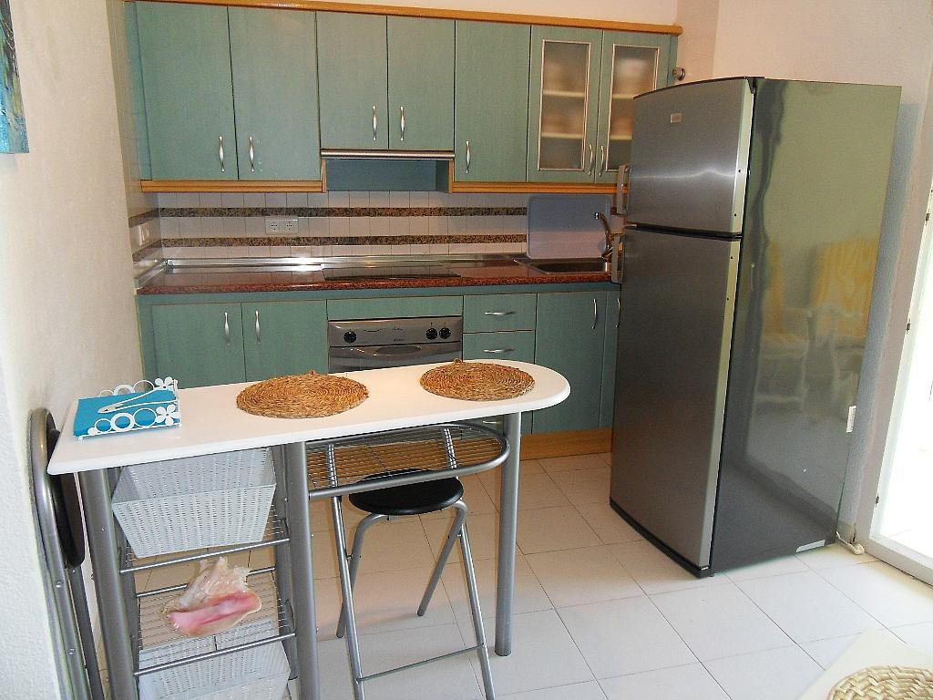 Cocina - Apartamento en alquiler de temporada en barrio Marineta Casiana, El Puerto en Dénia - 200886111