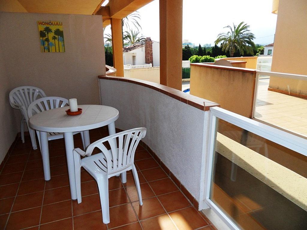 Terraza - Apartamento en alquiler de temporada en carretera Las Marinas, Las Marinas - Les Marines  en Dénia - 200886879