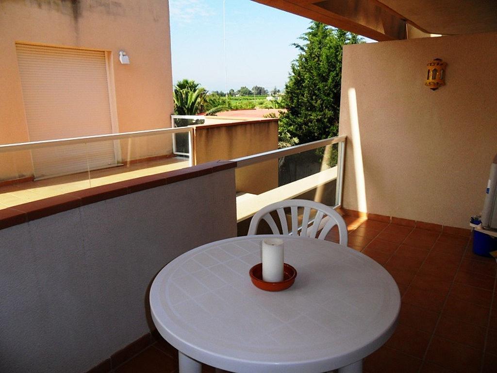 Terraza - Apartamento en alquiler de temporada en carretera Las Marinas, Las Marinas - Les Marines  en Dénia - 200886888