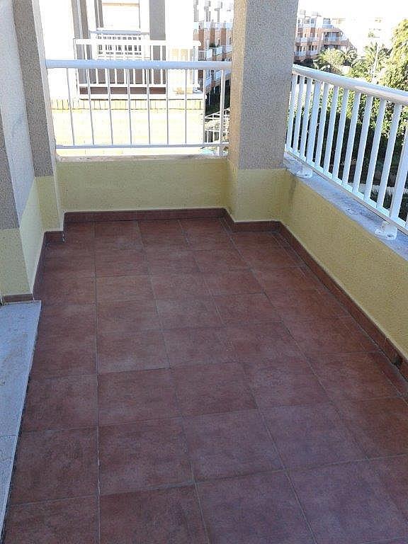 Terraza - Apartamento en alquiler de temporada en calle Sanabria, Las Marinas - Les Marines  en Dénia - 237720801