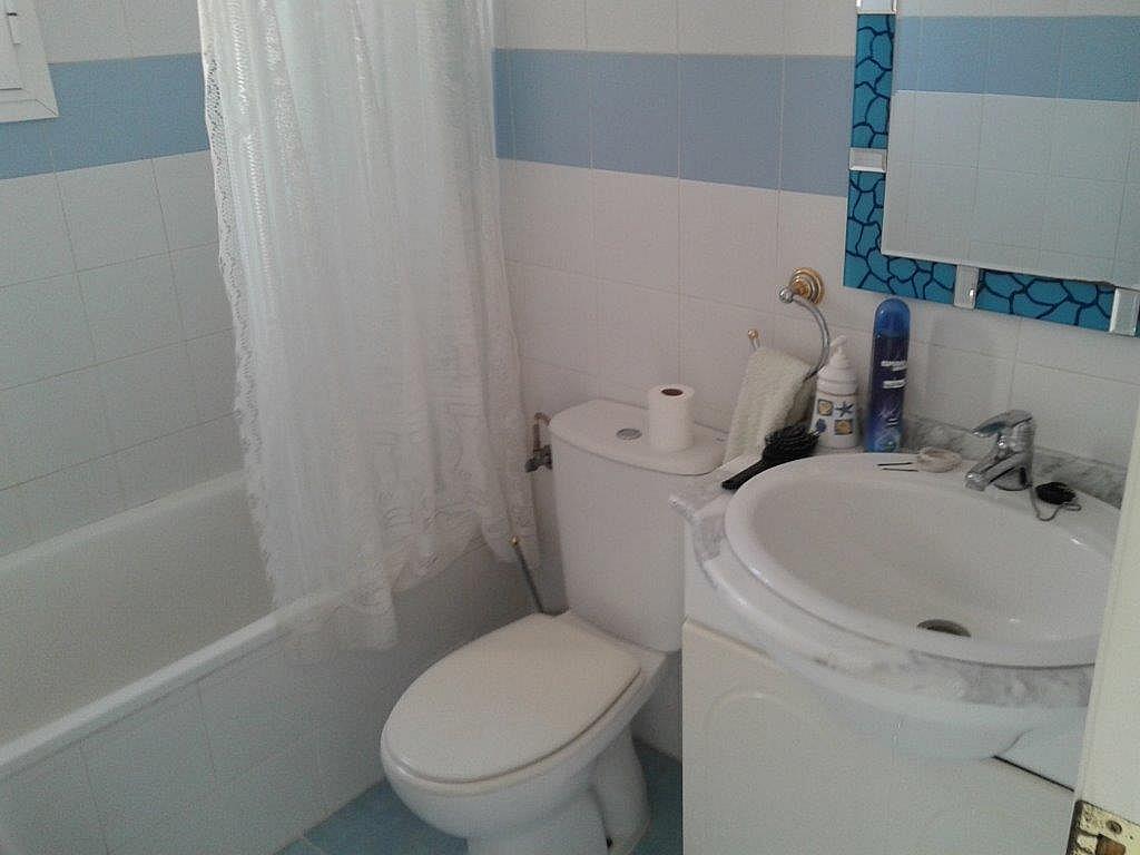 Baño - Apartamento en alquiler de temporada en calle Sanabria, Las Marinas - Les Marines  en Dénia - 237720807