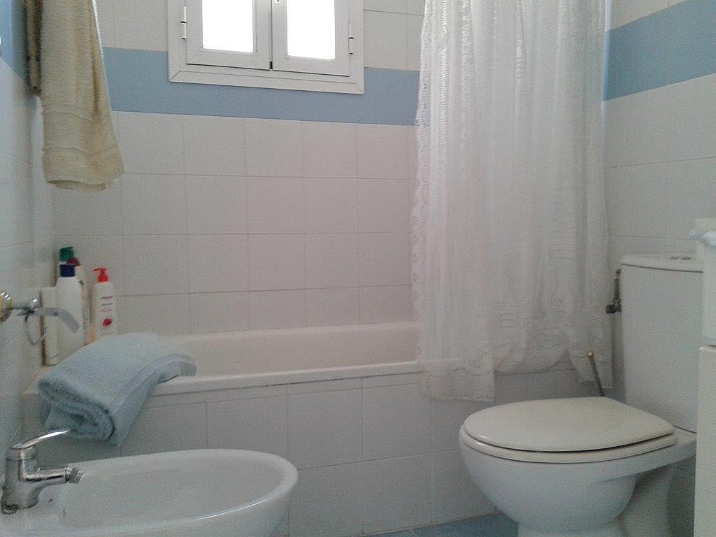 Baño - Apartamento en alquiler de temporada en calle Sanabria, Las Marinas - Les Marines  en Dénia - 237720813