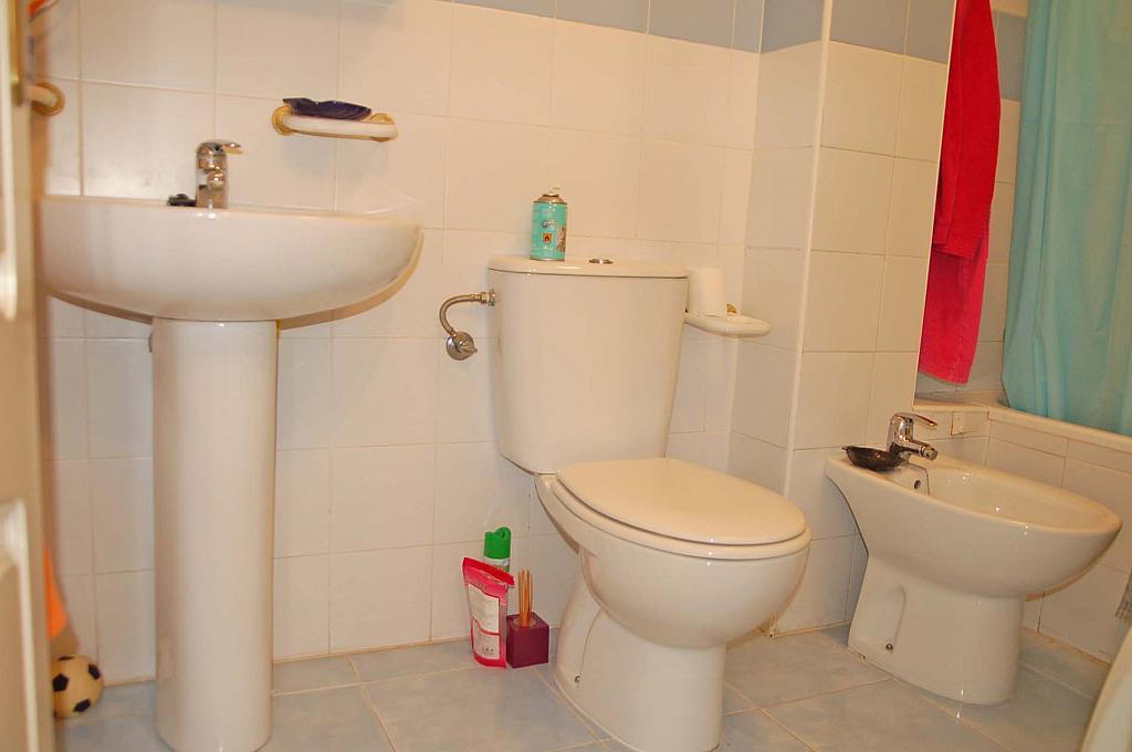 Baño - Apartamento en alquiler de temporada en carretera Las Marinas, Las Marinas - Les Marines  en Dénia - 271484795
