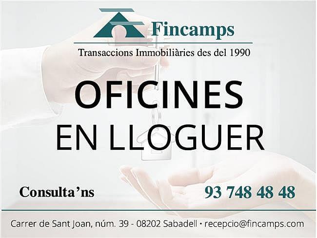 Oficina en alquiler en Centre en Sabadell - 327035107